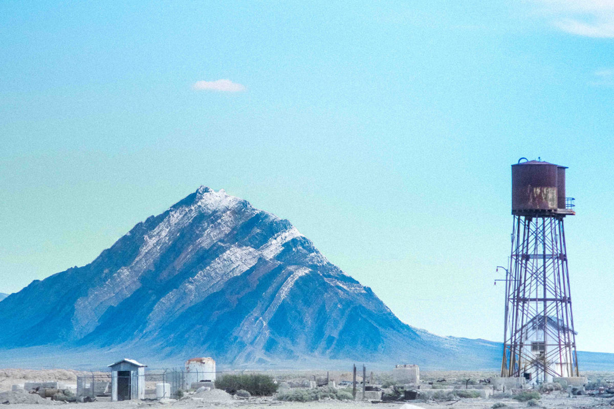 Water Tank and the Mountain